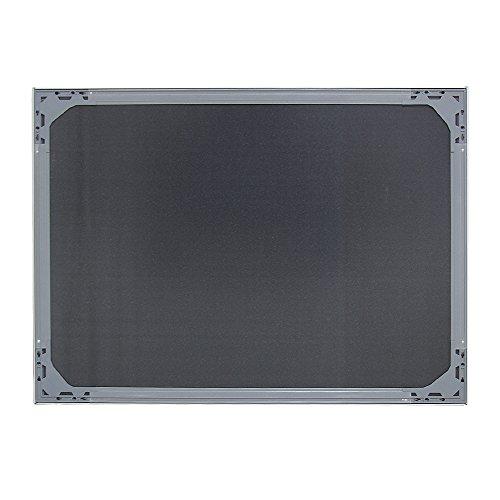 VIZ-PRO-Magnetic-Dry-Erase-Weeklymonthly-Planner-Silver-Aluminium-Frame-0-1