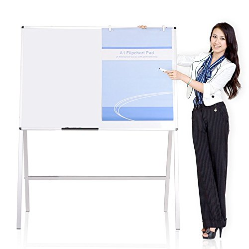 VIZ-PRO-Magnetic-H-Stand-Whiteboard-Adjustable-Dry-Erase-Easel-0