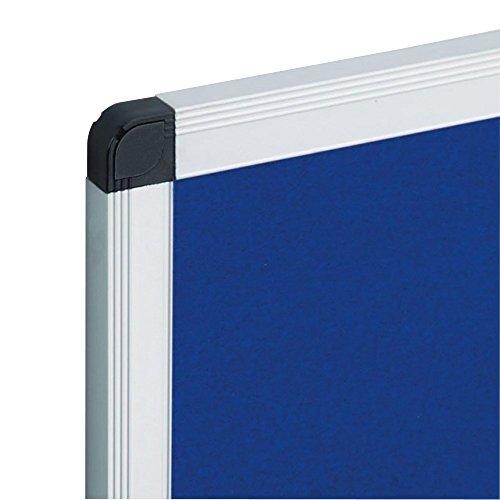 VIZ-PRO-Notice-Board-Felt-Blue-Silver-Aluminium-Frame-0-0