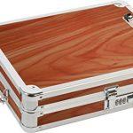 Vaultz-Locking-Wooden-Art-Case-Shoulder-Strap-13-x-10-x-325-inches-Brown-VZ03440-0