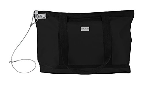Vaultz-Locking-Zipper-Tote-Bag-Water-Resistant-Nylon-5x-1990-x-134-Black-VZ00678-0