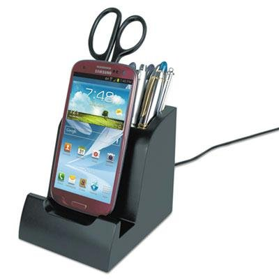 Victor-Smart-Charge-Dock-With-Pencil-Cup-For-Micro-Usb-Devices-Product-Category-Computer-Components-PeripheralsElectronic-Personal-Organizers-0