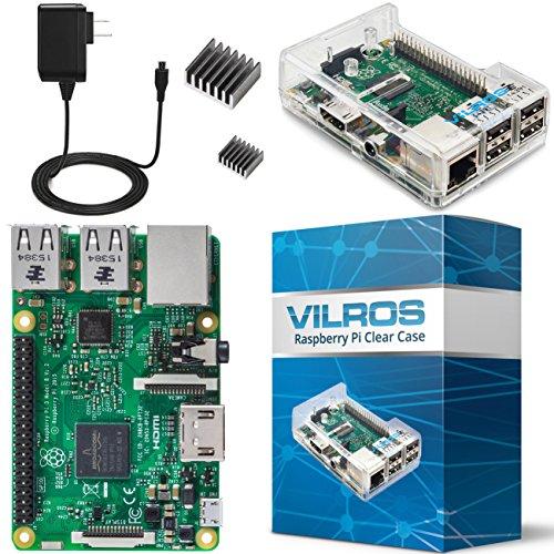 Vilros-Raspberry-Pi-3-Basic-Starter-Kit-Clear-Case-0