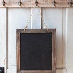 Vintage-Rustic-Rough-Wood-Framed-Hanging-Chalkboard-Natural-Finish-20-12-x-17-12-in-0