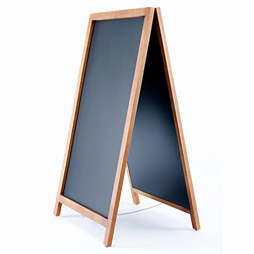Vintage-Wooden-Magnetic-A-Frame-Chalkboard-42×24-Restaurant-Bar-Sign-Indoor-Outdoor-by-VersaChalk-0-1