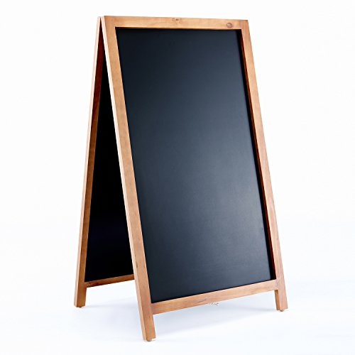 Vintage-Wooden-Magnetic-A-Frame-Chalkboard-42×24-Restaurant-Bar-Sign-Indoor-Outdoor-by-VersaChalk-0