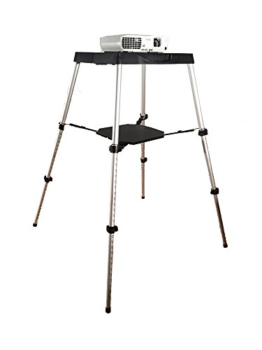 Visual-Apex-Portable-Projector-Table-Stand-with-Projector-Carry-Bag-0-0