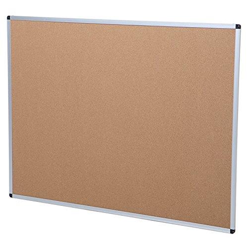 Viz-pro-Cork-Notice-Board-24-X-18-Inches-Silver-Aluminium-Frame-0-0