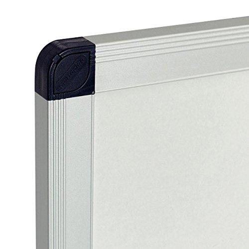 Viz-pro-Porcelain-Magnetic-Dry-erase-Whiteboard-Silver-Aluminiuim-Frame-0-1