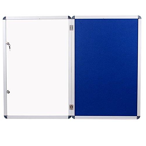 Viz-pro-Tamperproof-Lockable-Noticeboard-Class-1-Aluminium-Framed-0-1