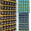 Wall-Door-Hanging-Organizer-with-Hooks-Numbered-Pocket-Charts-for-Classroom-School-Cell-Phones-Calculator-Storage-Canvas-0-0
