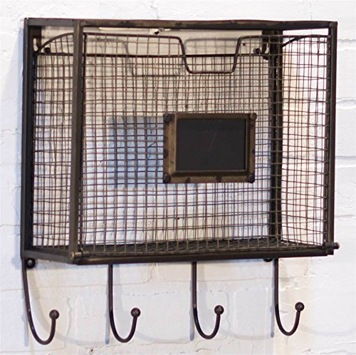 Wall-File-Basket-with-Hooks-0