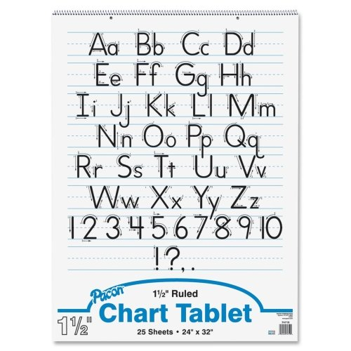 Wholesale-CASE-of-20-Pacon-Ruled-Manuscript-Chart-Tablets-Chart-TabletManuscript-Cvr1-12-Ruled24x3225Sh12CT-0