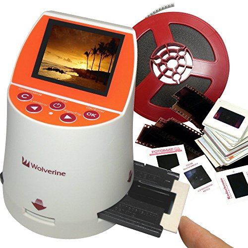 Wolverine-F2D-Mighty-20MP-7-in-1-Film-to-Digital-Converter-and-3-Wolverine-Slide-Tray-Bundle-0-0