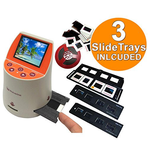 Wolverine-F2D-Mighty-20MP-7-in-1-Film-to-Digital-Converter-and-3-Wolverine-Slide-Tray-Bundle-0
