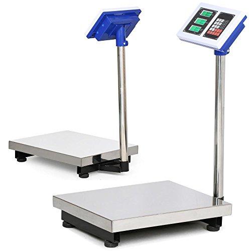 Yaheetech-660lbs-Weight-Computing-Digital-Floor-Platform-Scale-Postal-Shipping-Mailing-0-0