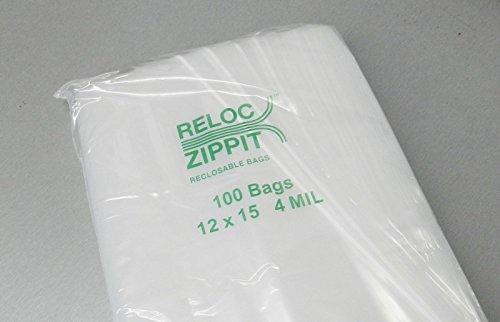 ZIPLOCK-BAGS-12×15-CLEAR-4-MIL-100pcs-RECLOSABLE-ZIP-LOCK-LARGE-BAG-12×15-4mil-LZ-5-FRE-NOVELTOOLS-0-0