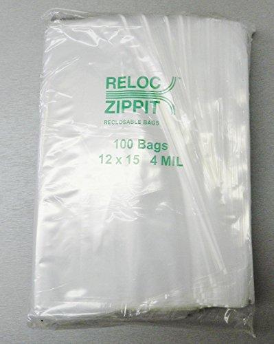 ZIPLOCK-BAGS-12×15-CLEAR-4-MIL-100pcs-RECLOSABLE-ZIP-LOCK-LARGE-BAG-12×15-4mil-LZ-5-FRE-NOVELTOOLS-0-1