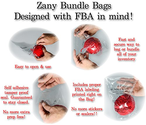 Zany-Self-Seal-Clear-Poly-Bags-Suffocation-Warning-for-FBA-Peel-and-Seal-Closure-FBA-Prep-Bagging-and-Bundling-0-0
