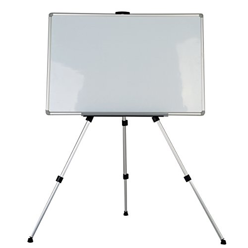 Zhidian-Aluminum-Lightweight-Telescoping-Display-Easel-Magnetic-Dry-Erase-White-Board-dry-erase-board-Silver-Finish-2719inches-0