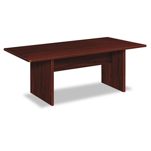 basyx-BLC72RNN-BL-Laminate-Series-Rectangular-Conference-Table-72-by-36-by-295-Inch-Mahogany-0