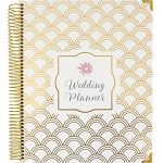bloom-daily-planners-Undated-Wedding-Planner-Hard-Cover-Wedding-Planner-Organizer-9-x-11-Gold-Foil-Scallops-0