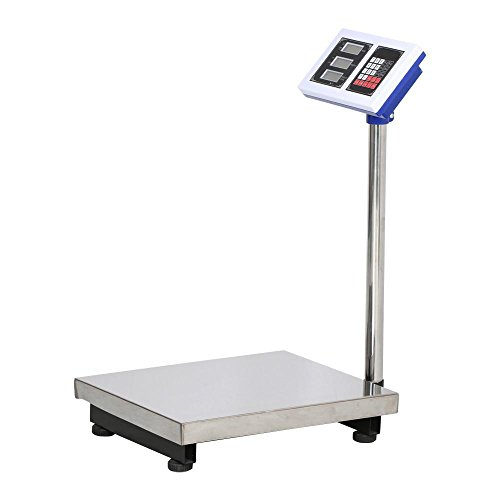 go2buy-Silver-Digital-Platform-Scale-660lbs-Max-Weight-for-Postal-Industry-Pet-Weighing-0