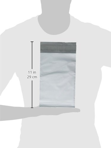 iMBAPrice100-Premium-Matte-Finish-Self-Sealing-Non-Padded-White-Poly-MailersMailing-EnvelopesBags-0-1