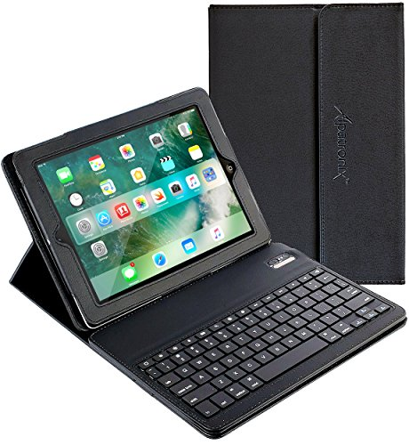 iPad-Keyboard-Leather-Case-Alpatronix-KX100-Bluetooth-iPad-Keyboard-Case-with-Removable-Wireless-Keyboard-Folio-Protection-Built-in-Tablet-Stand-for-iPad-4-3-2-1-iOS-10-Support-Black-0