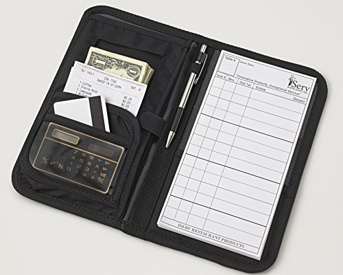 iServ-Deluxe-Waiter-Book-with-Secure-Money-Pocket-Made-in-the-USA-Waitstaff-Organizer-Server-Wallet-Professional-Restaurant-Products-0-1
