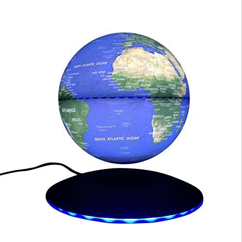 woodlev-Maglev-Magnetic-Levitation-Levitron-Floating-Rotating-Wireless-Transmission-Touch-Control-Three-Gears-6-Blue-Globe-Black-Platform-LED-Adjustment-Home-Decor-0-1